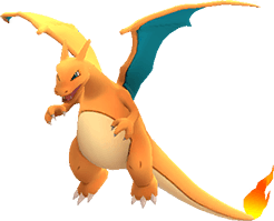 Charizard Pokemon Lets GO