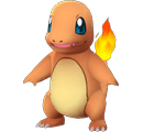 Charmander Pokemon Lets GO