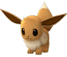 Eevee Pokemon Lets GO