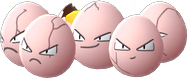Exeggcute Pokemon Lets GO