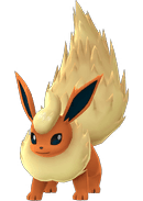 Flareon Pokemon Lets GO