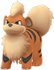 Growlithe Pokemon Lets GO