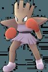 Hitmonchan Pokemon Lets GO