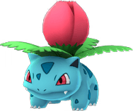Ivysaur Pokemon Lets GO