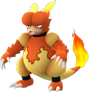 Magmar Pokemon Lets GO