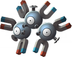 Magneton Pokemon Lets GO