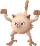 Mankey Pokemon Lets GO
