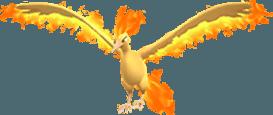 Moltres Pokemon Lets GO