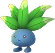 Oddish Pokemon Lets GO