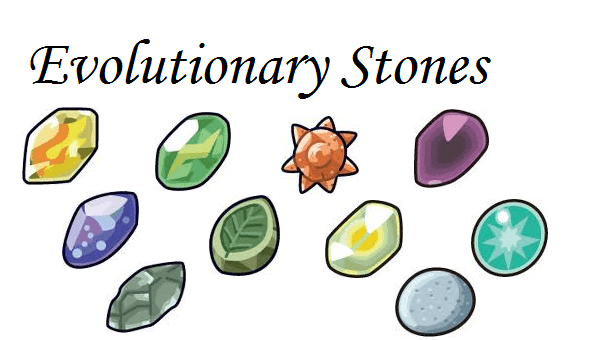 Pokemon Let's Go Evolution Items - Fire Stone - Leaf Stone
