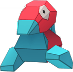 Porygon Pokemon Lets GO