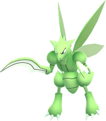 Scyther Pokemon Lets GO