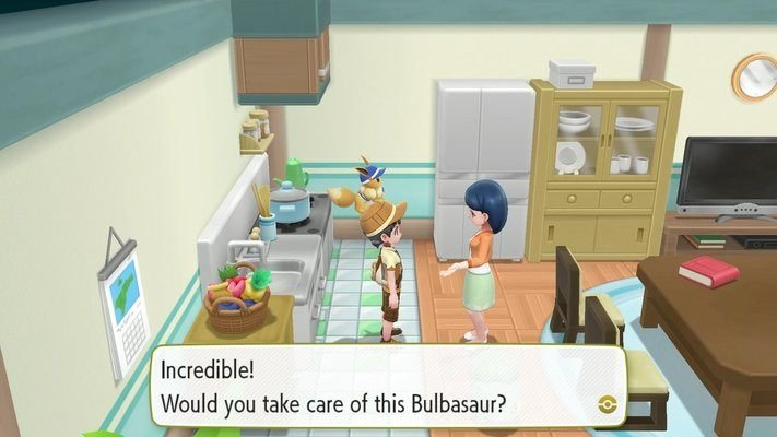 Pokemon Lets Go How To Get Bulbasaur