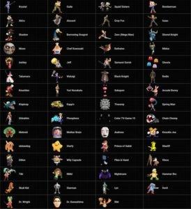 Super Smash Bros Ultimate Assist Trophy List