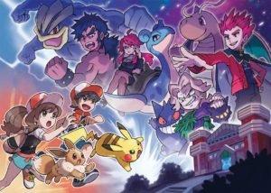 Pokemon Lets Go Elite Four