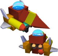 Kingdom Hearts 3 Gummi Ship