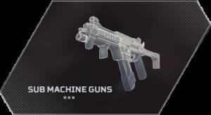 Apex Legends Sub Machine Guns List