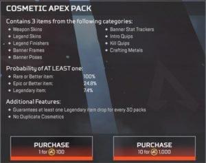 Apex Legends Store