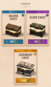 The Elder Scrolls Blades Chests
