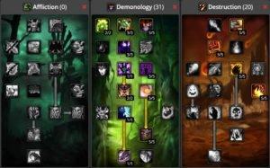WoW Classic Demonology Warlock Build