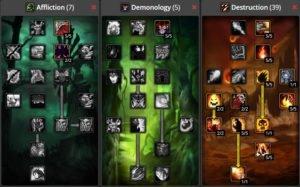 WoW Classic Destruction Warlock Build