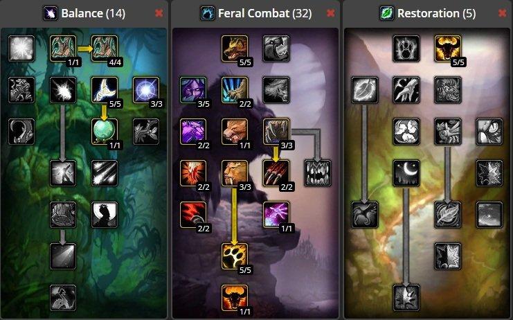 World of Warcraft Classic Druid Build List | Best Druid Builds