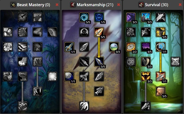 World Of Warcraft Classic Hunter Builds List Best Hunter Builds To Use