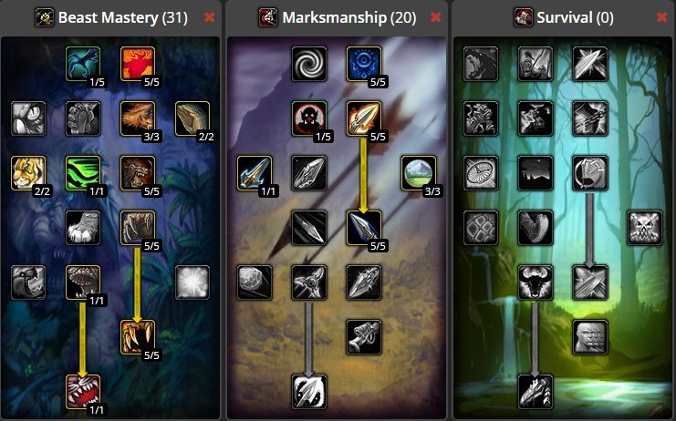 World Of Warcraft Classic Hunter Leveling Guide Leveling Locations 1 60