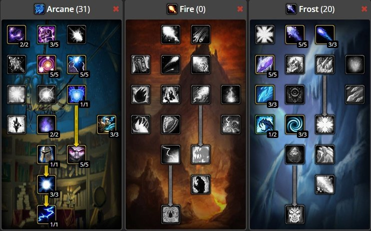 WoW-Classic-Leveling-Mage-Build
