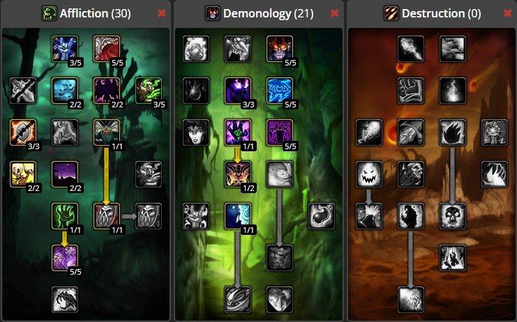 vanilla wow warlock farming guide