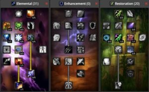 WoW Classic PVP Shaman Build