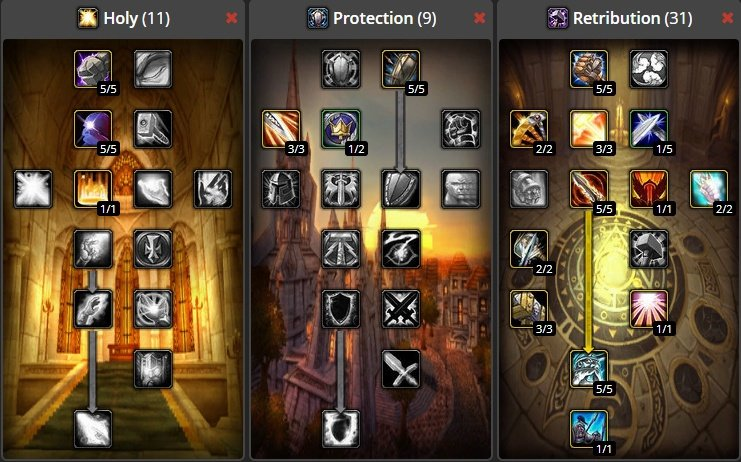 WoW-Classic-Retribution-Paladin-Build