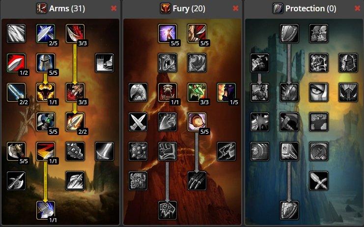 Wow classic best warrior leveling spec