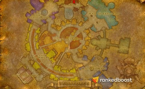 Ironforge-Warlock-Trainer-Location-WoW-Classic