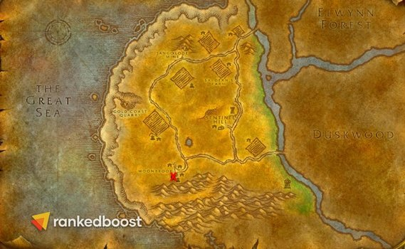 WoW-Classic-Deadmines-Location