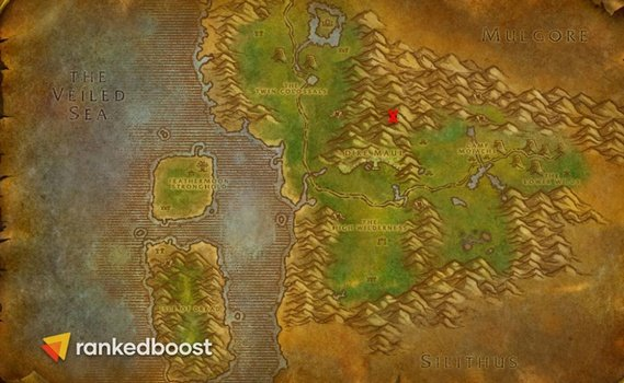 WoW-Classic-Dire-Maul-Location