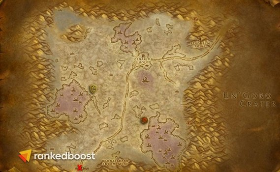 WoW-Classic-Ruins-of-Ahn'Qiraj-Location