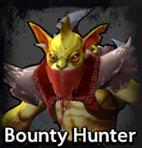 Bounty Hunter Dota Underlords