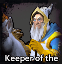 Keeper of the Light Dota Underlords