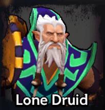 Lone Druid Dota Underlords