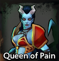 Queen of Pain Dota Underlords