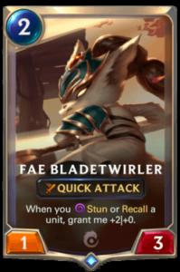 Fae Bladetwirler Legends of Runeterra