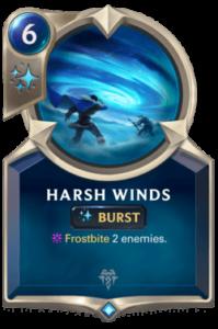 Harsh Winds Legends of Runeterra