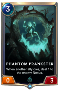 Phantom Prankster Legends of Runeterra