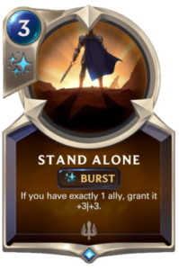 Stand Alone Legends of Runeterra