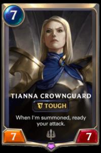 Tianna Crownguard Legends of Runeterra