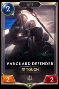 Vanguard Defender Legends of Runeterra