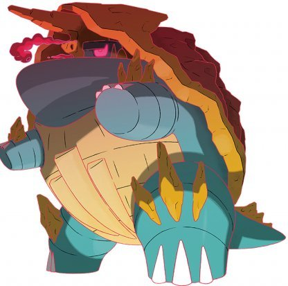 Gigantamax -Drednaw-Pokemon-Sword-Shield