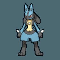 Pokemon S&S Lucario