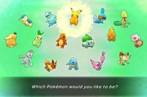 Pokemon Mystery Dungeon Rescue Team DX Starter Pokemon